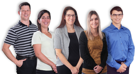 Equipe physiotherapeute Sherbrooke Physio-santé