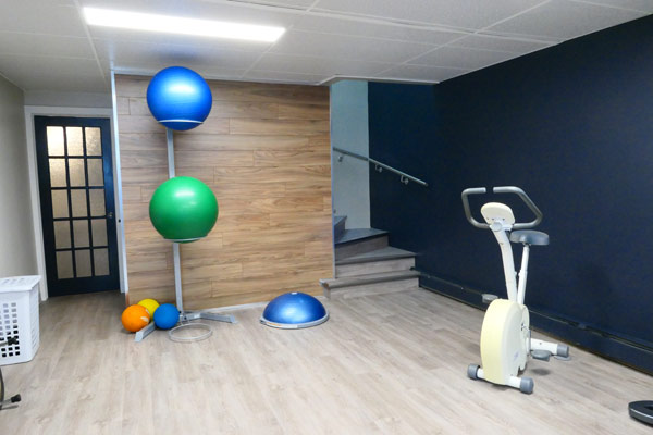 salle entrainement ergotherapie physiotherapie